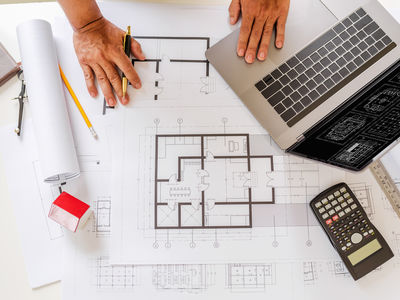 neues Musterhaus in Planung