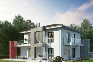 Grüne Stadtvilla in München-Poing - OKAL Haus GmbH