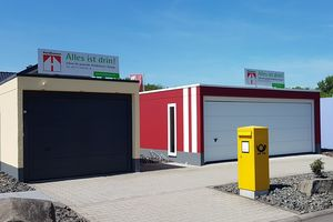 Fertiggaragen - Hundhausen-Bau GmbH