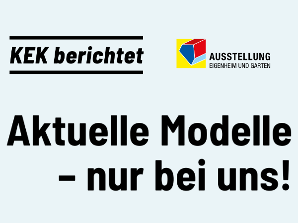 Aktuelle Modelle - nur bei uns