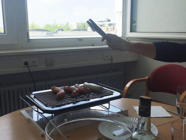 Grill-Sommer im Büro