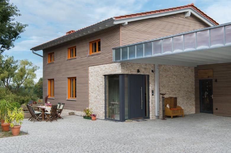 Wohnen im naturreinen Thoma Holz100-Haus - Frankfurt, Baumgarten ...