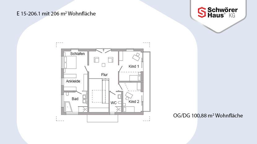 plan e 15 206 1 stuttgart schw rerhaus kg musterhaus online. Black Bedroom Furniture Sets. Home Design Ideas