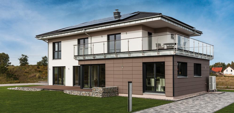 Musterhaus fellbach architekturline setros stuttgart for Stadtvilla zweifamilienhaus