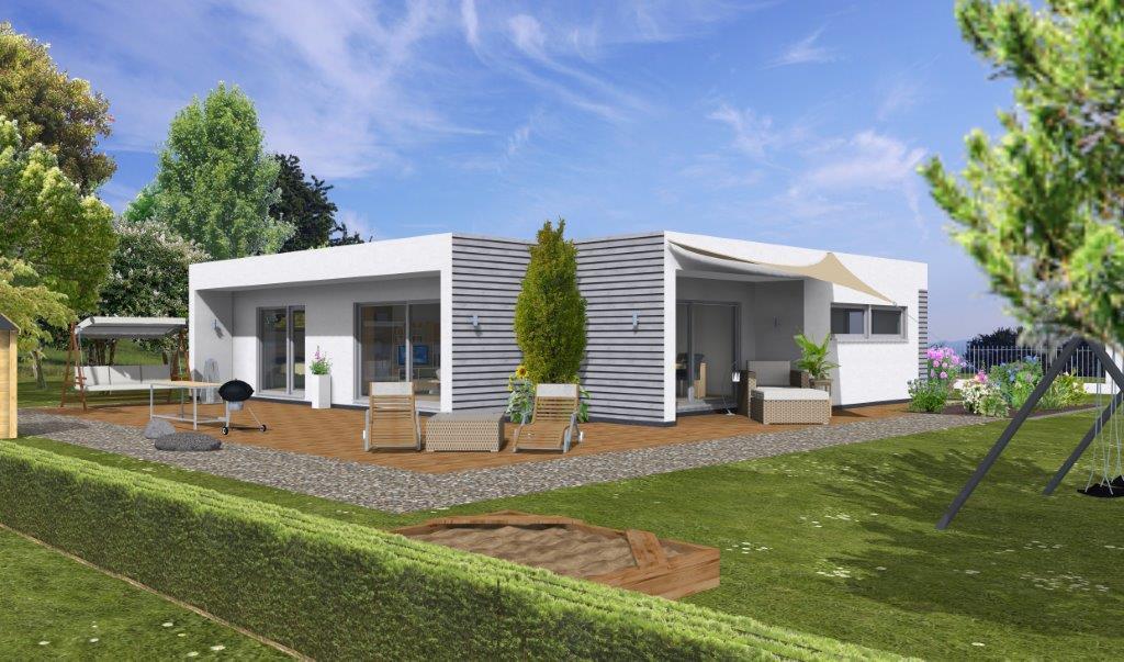Musterhaus bungalow  Bungalow - Stuttgart, Schäfer Fertighaus GmbH & Co. KG: Musterhaus ...