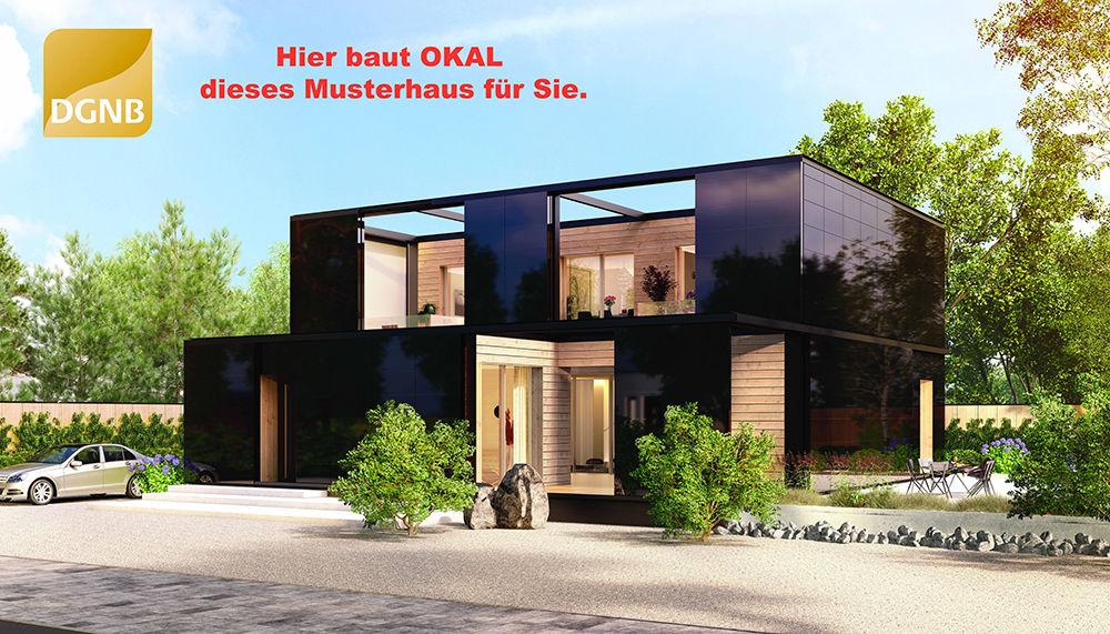 neues musterhaus in planung stuttgart okal haus gmbh musterhaus online. Black Bedroom Furniture Sets. Home Design Ideas